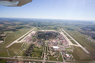 Randolph Air Force Base - Aerial photo from 2500 feet