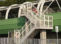Emergency exit between trains viaduct and Ap Lei Chau Bridge (revised).jpg