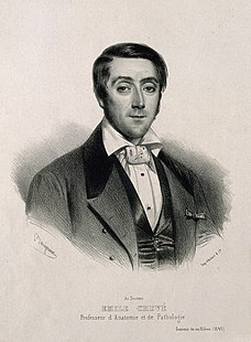 Emile-Joseph-Maurice Chevé. Lithograph by Benjamin, 1840. Wellcome V0001103.jpg