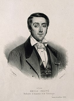 Emile-Joseph-Maurice Chevé. Lithograph by Benjamin, 1840. Wellcome V0001103.jpg