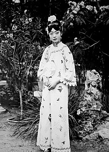 Empress Wanrong Empress consort of China