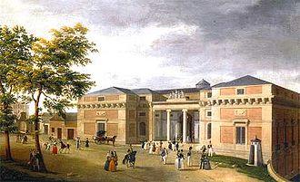 Juan de Villanueva - Prado Museum. Goya façade according to Villanueva´s project.