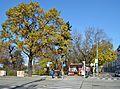 Entrance Auer-Welsbach-Park, Vienna.jpg
