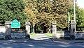 Entrance to Mayer Park, The Village, close.jpg
