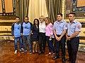 Entrega de Preseas al merito deportivo Alcaldía de Guayaquil.jpg