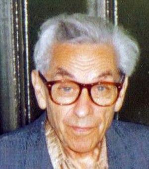 Paul Erdős - Paul Erdős at a student seminar in Budapest (Fall 1992)
