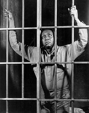 Ernest Whitman - Whitman as Vincent Jackson in the Broadway play, The Last Mile, 1930.