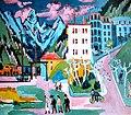 Ernst Ludwig Kirchner Bahnhof Davos 1925.jpg