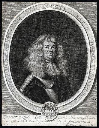 Ernest, Landgrave of Hesse-Rheinfels - Ernest, Landgrave of Hesse-Rheinfels