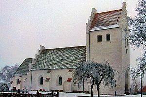Errindlev Church - Errindlev Church