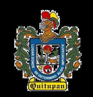 Quitupan - Image: Escudo de armas de Quitupan