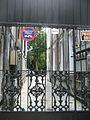 Esplanade Ave FQ Sept O9 Driveway Gate.JPG