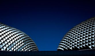 Architecture of Singapore - Esplanade – Theatres on the Bay