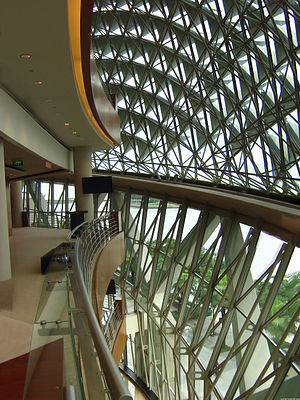 Esplanade – Theatres on the Bay - Foyer to the concert hall