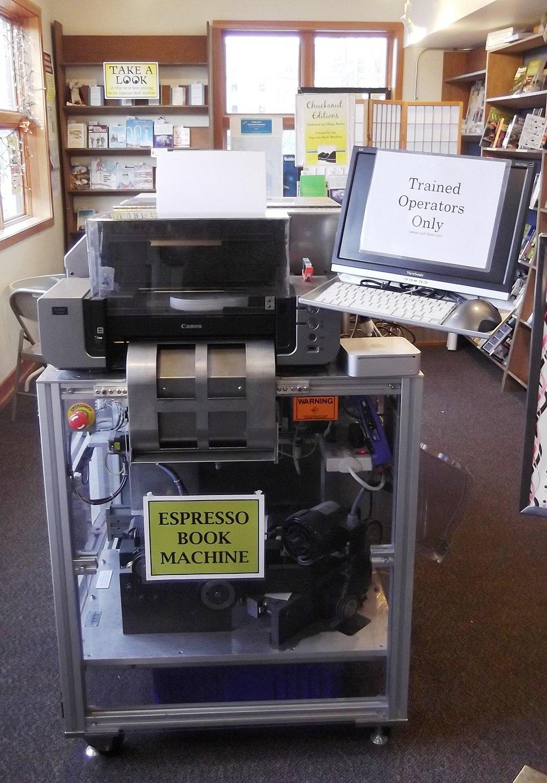 Espresso Book Machine at Village Books - Flickr - brewbooks