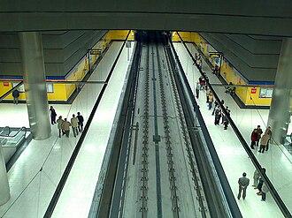 Henares (Madrid Metro) - Image: Estacionhenares