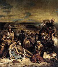 Eugène Delacroix - The Massacre at Chios - WGA6163