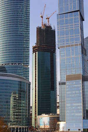 Eurasia (building) - Image: Eurasia Tower 20th October 2012