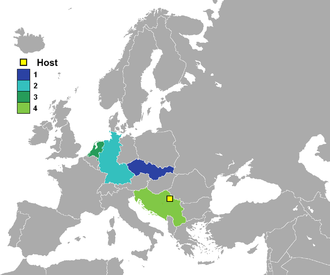 UEFA Euro 1976 - 1976 UEFA European Football Championship finalists