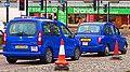Eurotaxis - 2012 Peugeot Partner Tepee LX HDI and 1999 LTI TX1 - Bristol, England - UK (17059987308).jpg