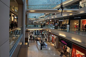 Eurovea - Image: Eurovea Shopping Centre, Bratislava