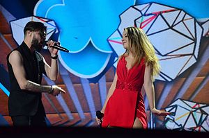 Yodel It! - Image: Eurovision Song Contest 2017, Semi Final 2 Rehearsals. Photo 210