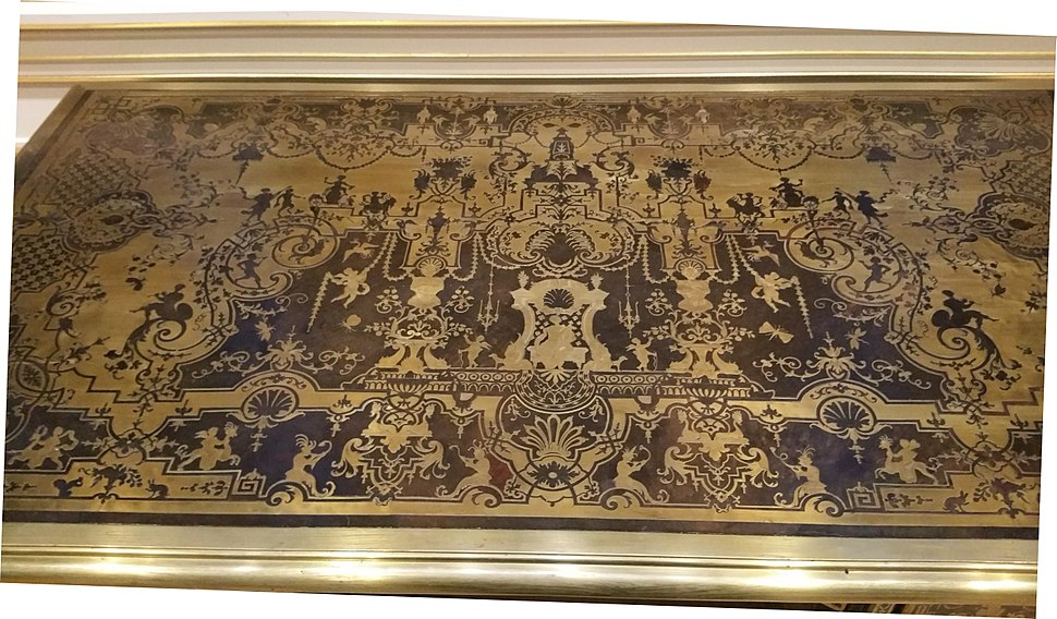 Example of Boulle Marquetry from the Wallace Collection in London 3