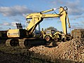 Excavators at Sawtry Roughs - geograph.org.uk - 1708330.jpg