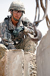Expanding T-walls at Joint Security Station Loyalty in Baghdad, Iraq DVIDS173707.jpg