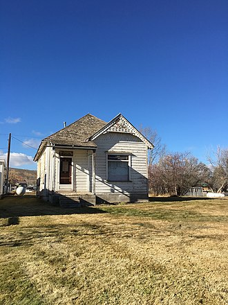 National Register of Historic Places listings in Bear Lake County, Idaho - Image: Ezra Allred Cottage NRHP 82000259 Bear Lake County, ID