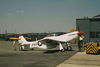193d Special Operations Squadron - F-51D of the 148th Fighter Squadron, Pennsylvania ANG, 1957.