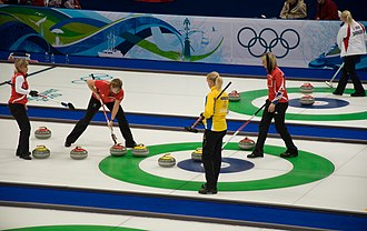 Frisco High School - Image: FHS At curling championship
