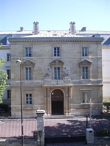 Высшая нормальная школа, в которой Альтюссер жил и работал большую часть жизни