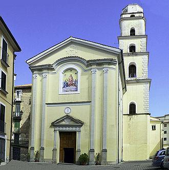 Vallo della Lucania - Image: Facciata chiesa di san pantaleone