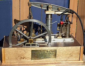Bryan Donkin - Image: Fairbairn Model Pattern Beam Engine