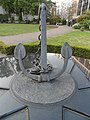 Falklands War Merchant Navy Memorial sculpture.jpg