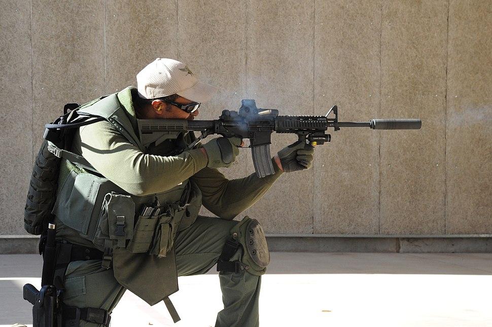 Falls SWAT team member