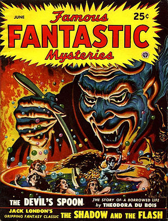 "London's 1903 story ""The Shadow and the Flash"" was reprinted in the June 1948 issue of Famous Fantastic Mysteries Famous fantastic mysteries 194806.jpg"
