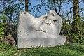 Faun, Auerkalkstein, Werk von Gautam im Skulpturengarten von A. Röhrl.jpg
