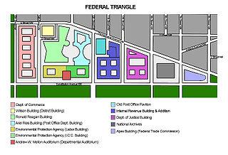Federal Triangle neighborhood of Washington, D.C.