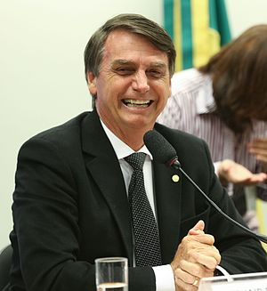 Brazilian general election, 2018 - Image: Federal Deputy Jair Bolsonaro at the Brazilian Chamber of Deputies