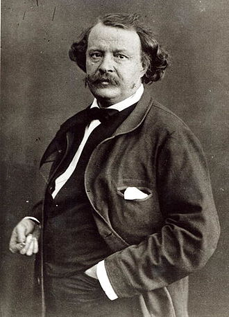 Nadar - Self-portrait of Nadar, c. 1860