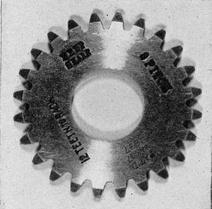 Edwin R. Fellows - Early example of a Fellows gear cutter
