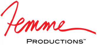 Femme Productions was founded by Candida Royalle in 1984. Femme Productions logo.png