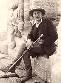 Fernand Bisson de la Roque French egyptologist and archaeologist