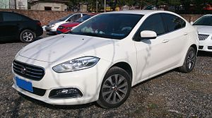Dodge Dart (PF) - Front view of the Fiat Viaggio in China
