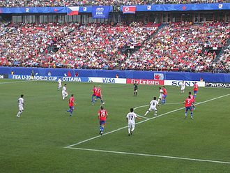 2007 FIFA U-20 World Cup - Czech Republic vs. DPR Korea at the Frank Clair Stadium in Ottawa on 3 July 2007.