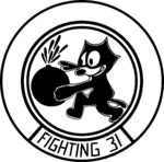 Fighter Squadron 31 (US Navy) insignia, 1951.png