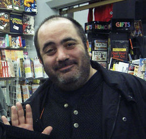 Comic book writer Dan Slot.