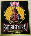 Fire mark for British General Insurance Company, Limited in London, England.jpg